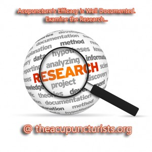 Acupuncture Resources, Articles and Research