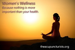 Acupuncture and Women's Wellness