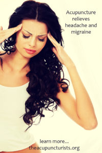Acupuncture relieves headache and migraine