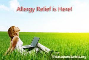 Acupuncture effectively reduces allergy symptoms