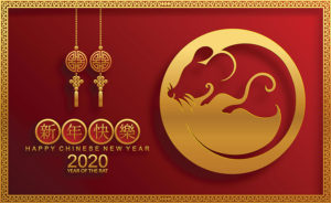 Year of the Rat for the Chinese New Year!