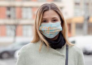 Mask wearing during the corona virus Coral Springs Florida